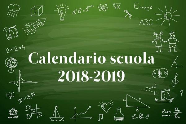 Calendario scolastico 2018-2019: festività, ponti e vacanze