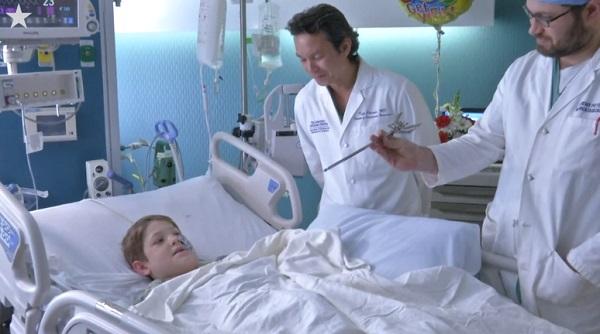 Xavier Cunningham: bambino di 10 anni miracolato