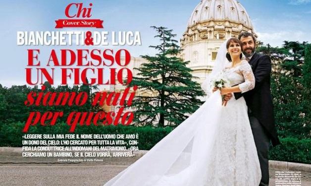 Lorena Bianchetti incinta: mamma per la prima volta a 44 anni.