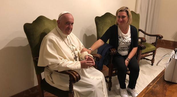 Antonietta Gargiulo Papa Francesco