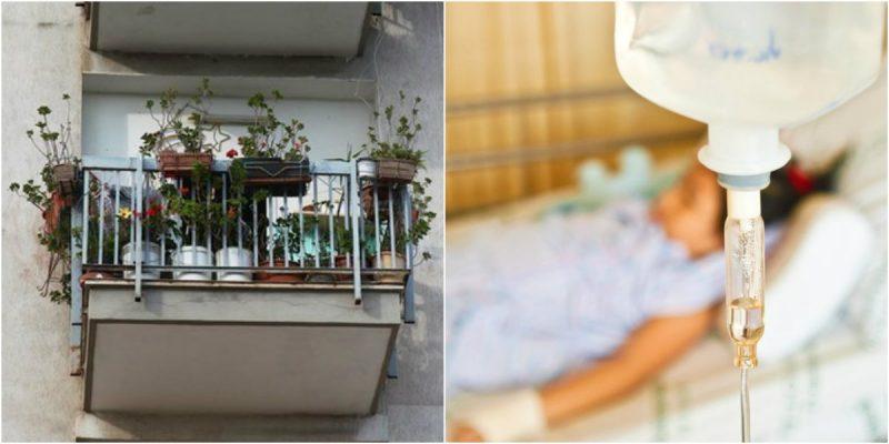 bambina di 6 anni lanciata dal balcone dal padre