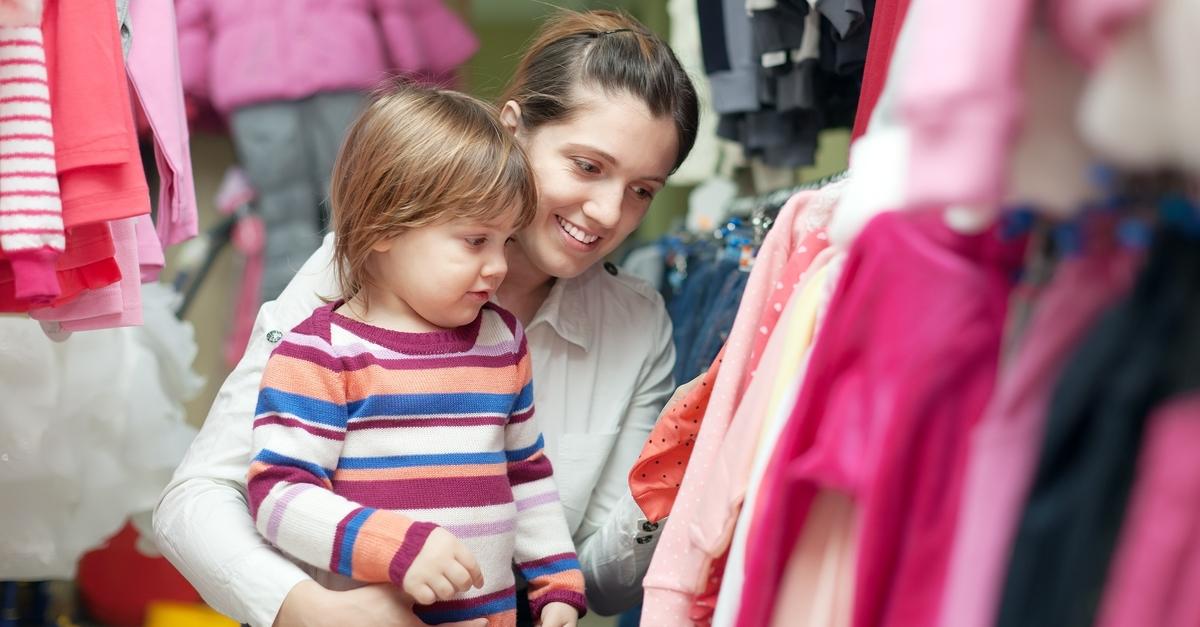 Come vendere vestiti usati per bambini online