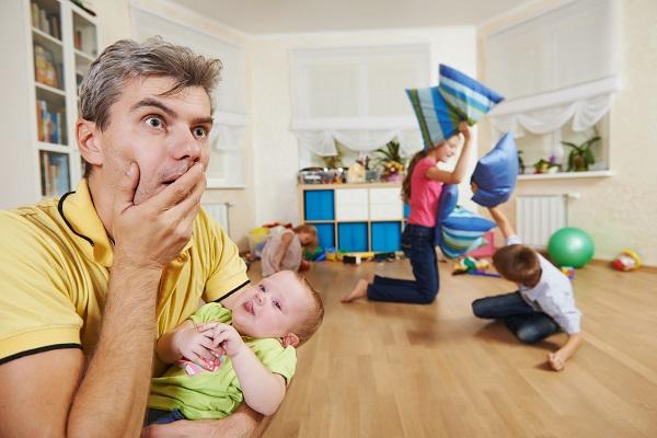 Le mamme di 3 figli sono più stressate di tutte