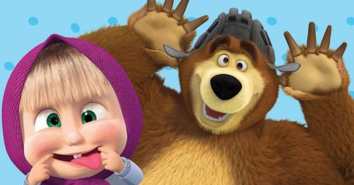 Masha e orso accusato di propaganda filorussa
