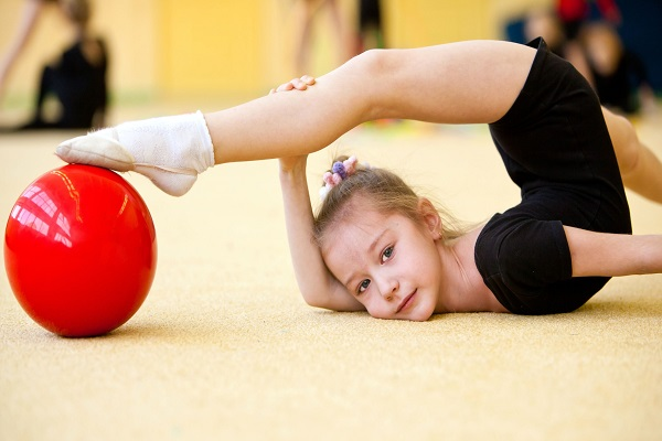 Giorgia Greco, la ginnasta italiana con una gamba sola