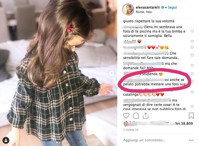 Elena Santarelli mamma guerriera malattia figlio instagram