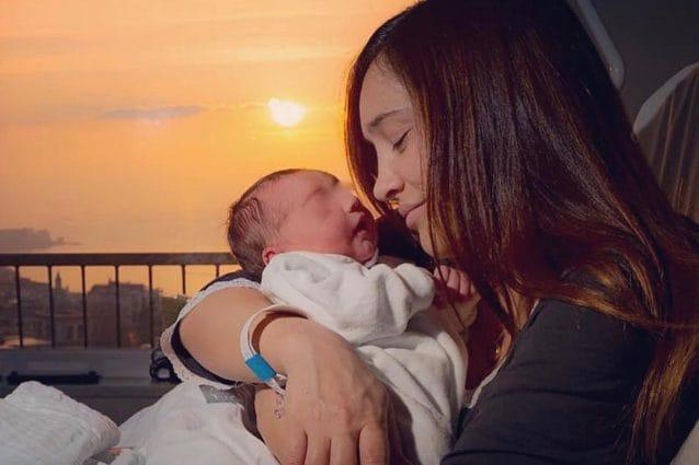 Ilenia Lazzarin mamma