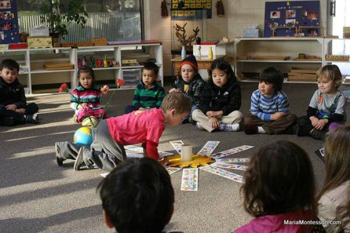 rito Montessori del compleanno