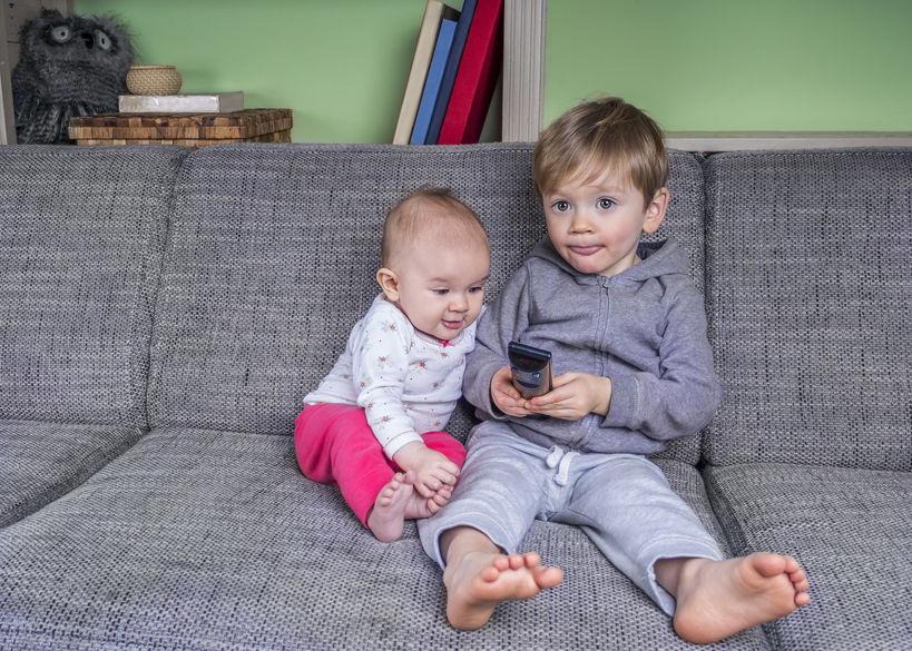 La televisione fa male al cervello dei bambini