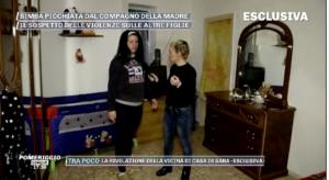 La casa in cui viveva la bimba di 22 mesi picchia dal compagno della mamma