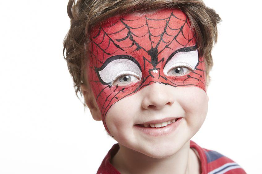 Trucco di carnevale  per bambini realizzazione, accortezze e pulizia della pelle.