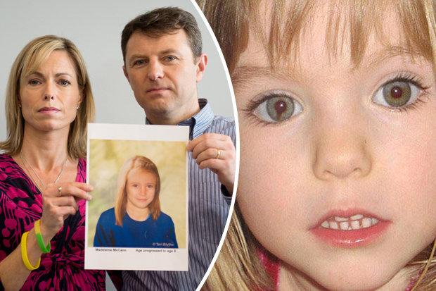caso irrisolto di Maddy McCann