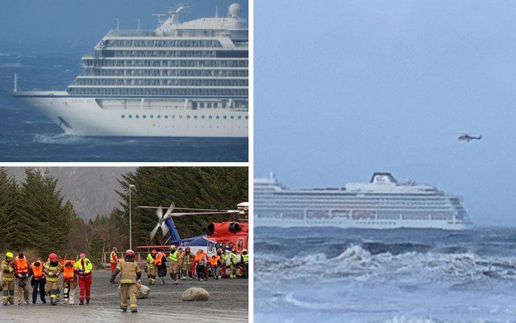 Nave da crociera in avaria a largo della Norvegia
