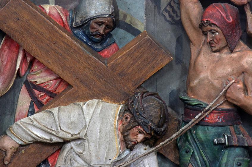 leggenda della croce di Gesù
