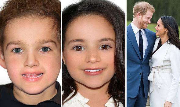 Le prime foto dei figli di Meghan e Harry