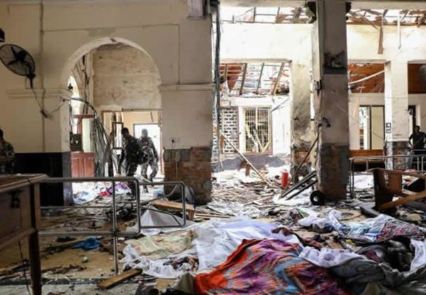 Attentati terroristici in Sri Lanka