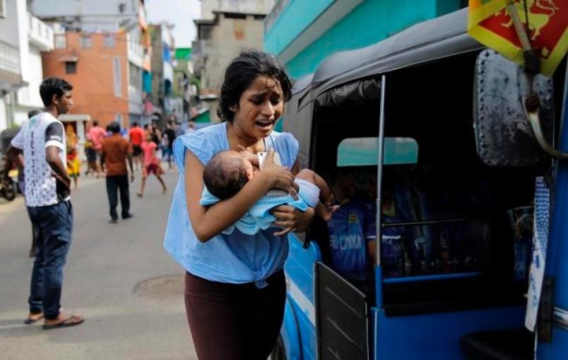 attentati terroristici in Sri Lanka bambini