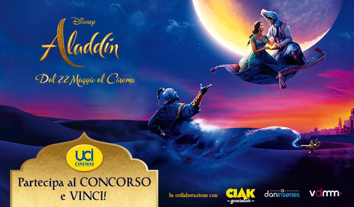 Acquistare un biglietto UCI Cinemas per vedere Aladdin