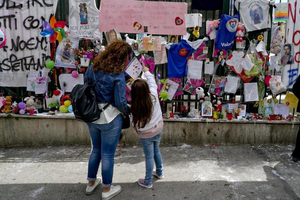 la bimba ferita nell'agguato di Piazza Mercato a Napoli, non è più in pericolo di vita