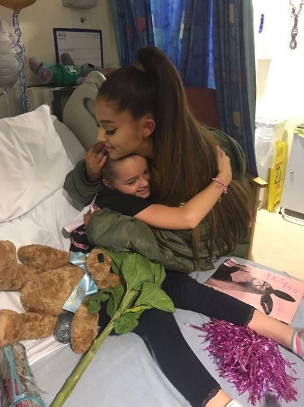 Ariana Grande feriti Manchester