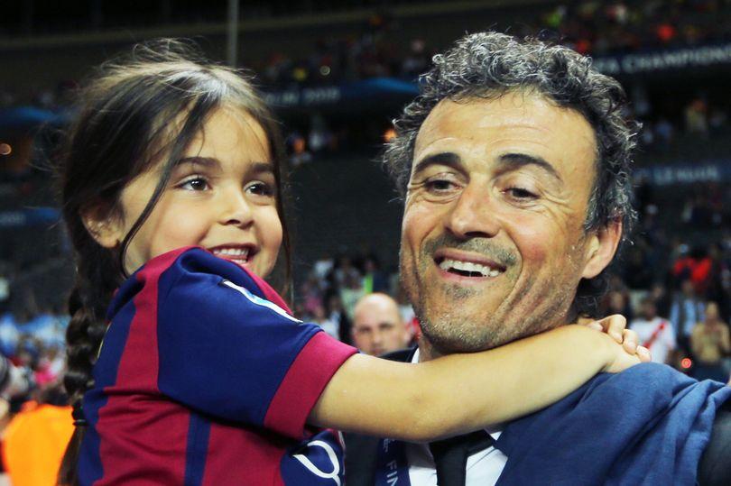 la figlia di Luis Enrique