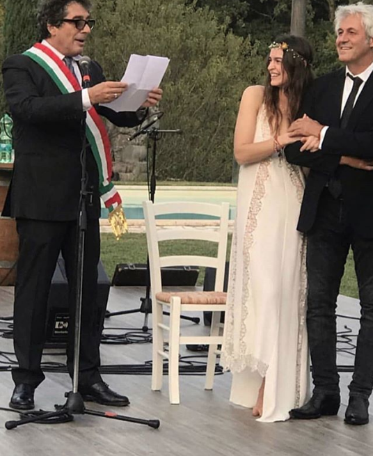 Kasia Smutniak si è sposata a sorpresa
