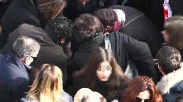 Funerali di Gaia e Camilla, fonte immagine Live del Messaggero