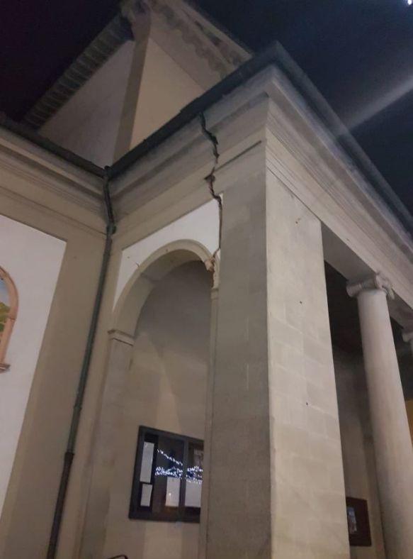 Terremoto a Firenze danni