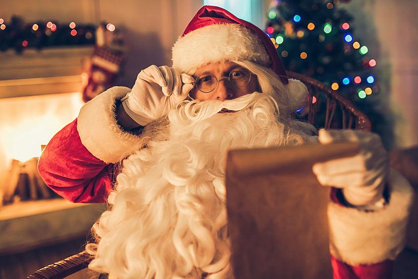video messaggio di Babbo Natale