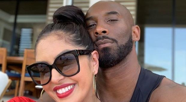 kobe bryant e sua moglie