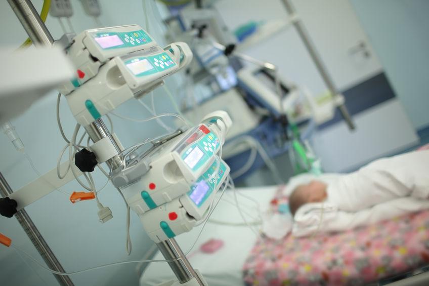 piccolo paziente Italiano ricoverato per Coronavirus