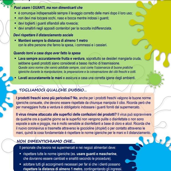 Come fare la spesa ai tempi del coronavirus