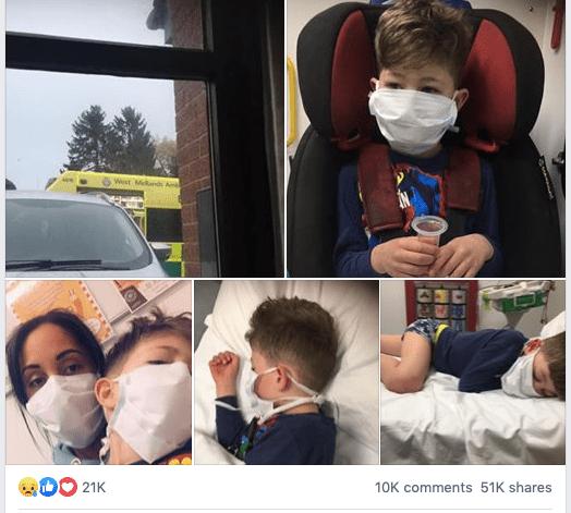 Bambino di 5 anni sconfigge il Covid-19