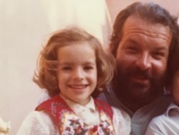Figlia di Bud Spencer racconta il papà in un libro