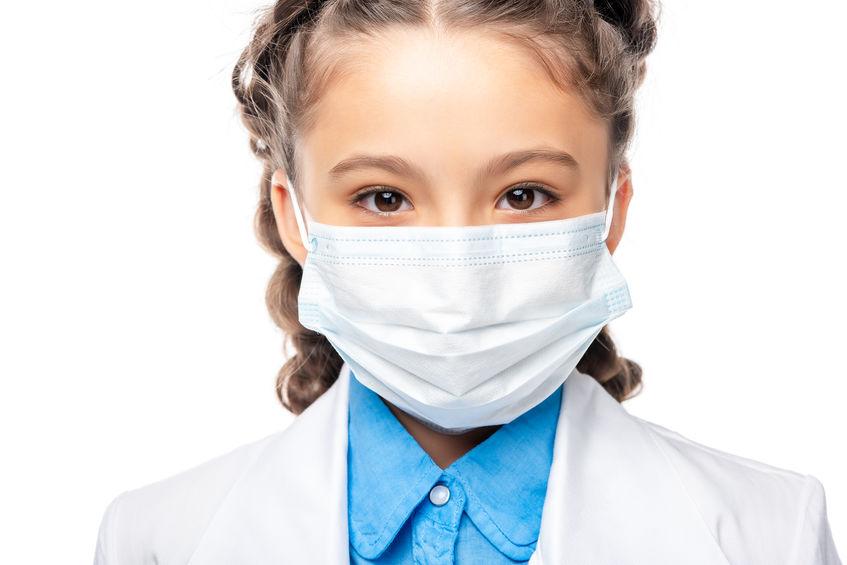chi non usa la mascherina a scuola