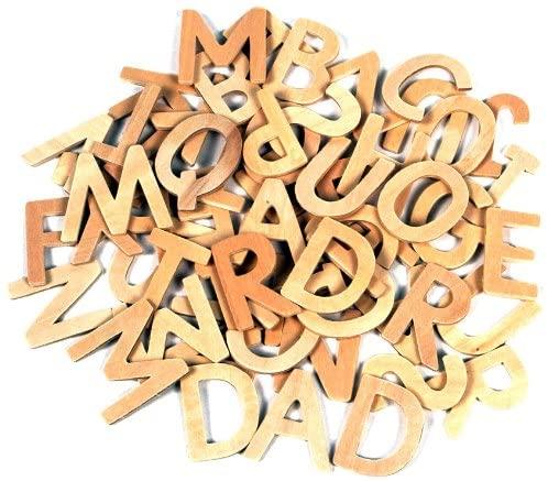 Come si impara a scrivere in prima elementare. Lettere in legno acquistabili in rete