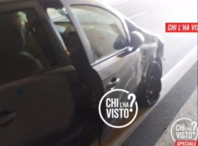 Vettura di Viviana Parisi dopo l'incidente.