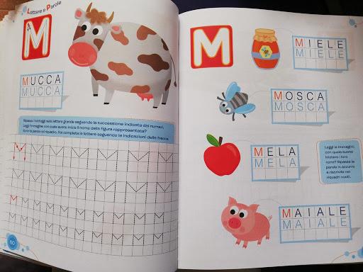 come si impara a scrivere in prima elementare