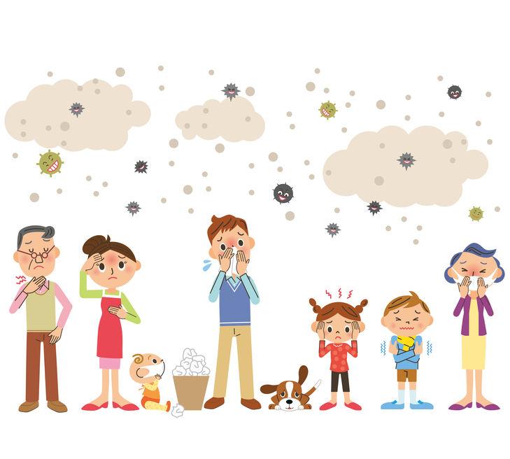 Covid contagio in famiglia