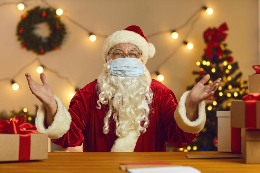 Babbo Natale e Covid