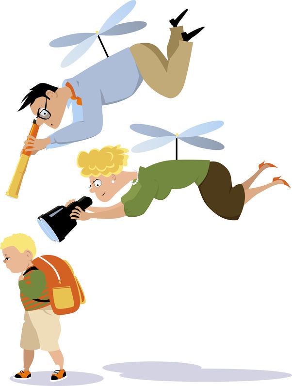 Qual è la psicologia dei genitori elicottero