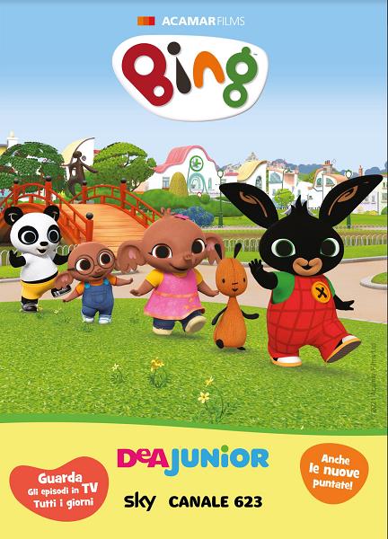 Bing stagione 2: i nuovi episodi su DeA Junior.