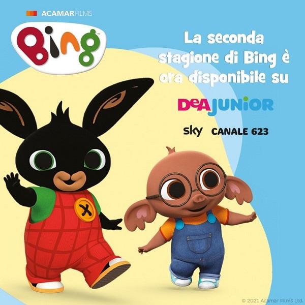 Bing stagione 2: i nuovi episodi su DeA Junior