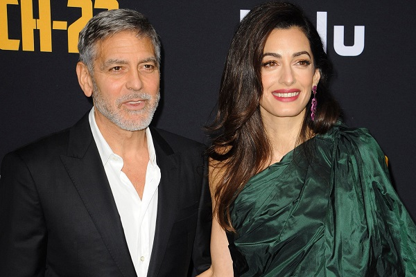 I figli di George Clooney e Amal Alamuddin oggi