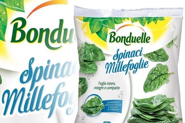 Spinaci surgelati, Bonduelle: